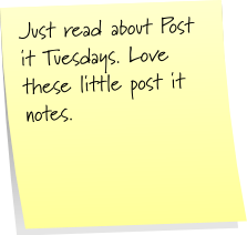 post it notes post it Tuesday