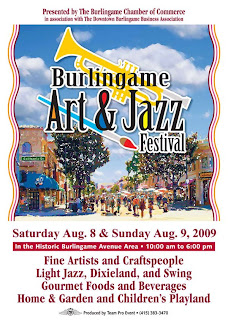 Burlingame Art and Jazz Festival