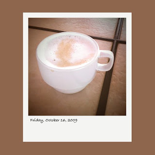 latte coffe iPhone polaroid