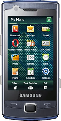 Samsung B7300 Omnia LITE, the new Windows Mobile 6.5 touchscreen device now available for testing on Perfecto Mobile's service