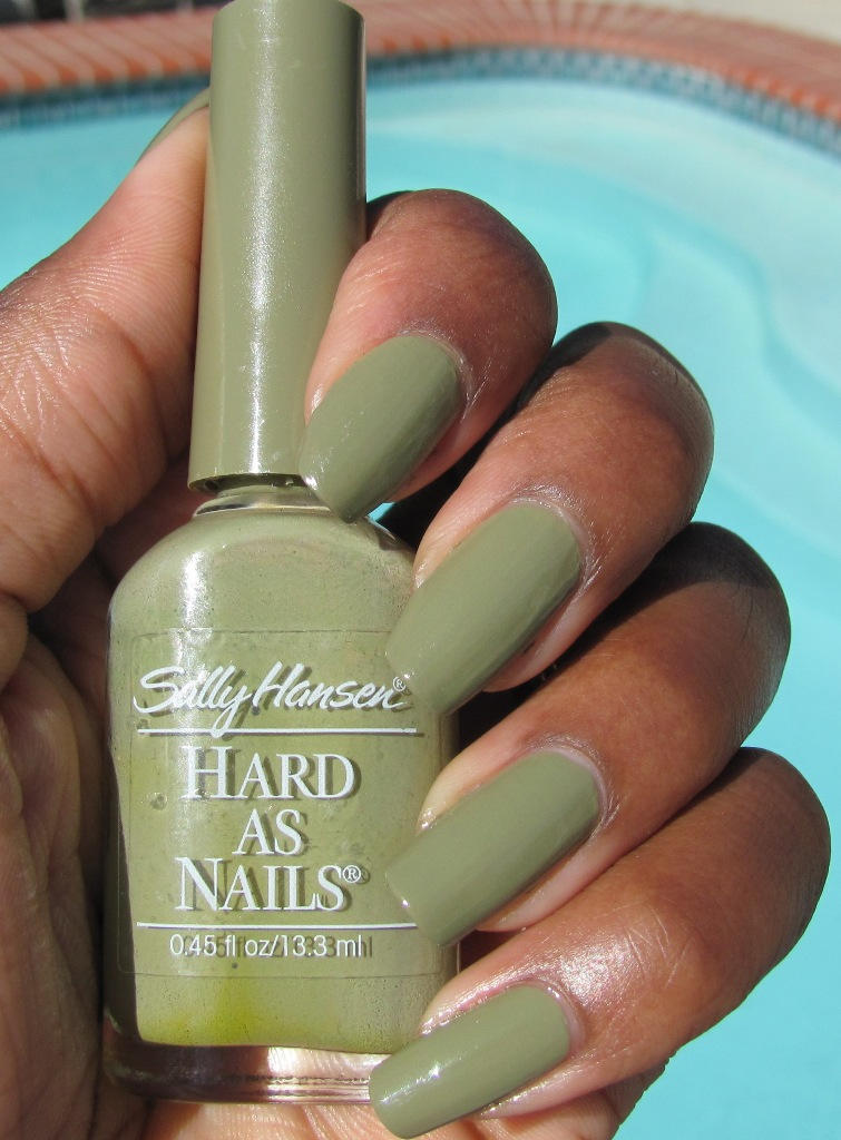 ANOTHER Bottle of Polish?!: Sally Hansen Hard as Nails - Trendy Creme