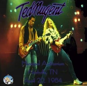 Soundaboard Ted Nugent Nashville Usa 1984 Soundaboard