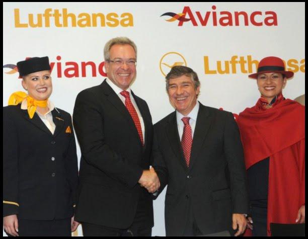 Avianca taca y lufthansa firman acuerdo for Oficina de avianca en madrid