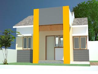Desain Kamar Mandi Kecil on Konsultasi Rumah Gratis  Rumah Tipe 36 Untuk Perumahan Model Sederhana