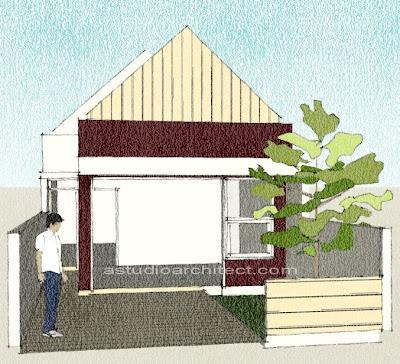 a konsultasi rumah gratis rumah memanjang ke belakang
