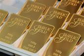 Gold bar and gold Dinar