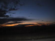 sun set in idaho