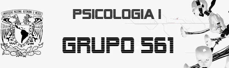 Psicologia I Grupo 561