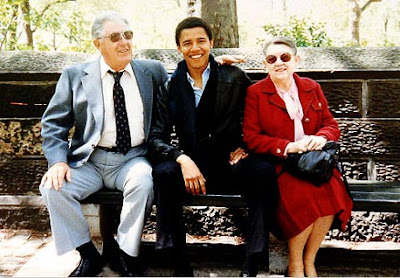 barack obama biography, parents and grandparents