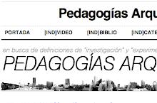pedagogías arquitectónicas