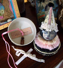 Themed Art Doll Keepsake Box