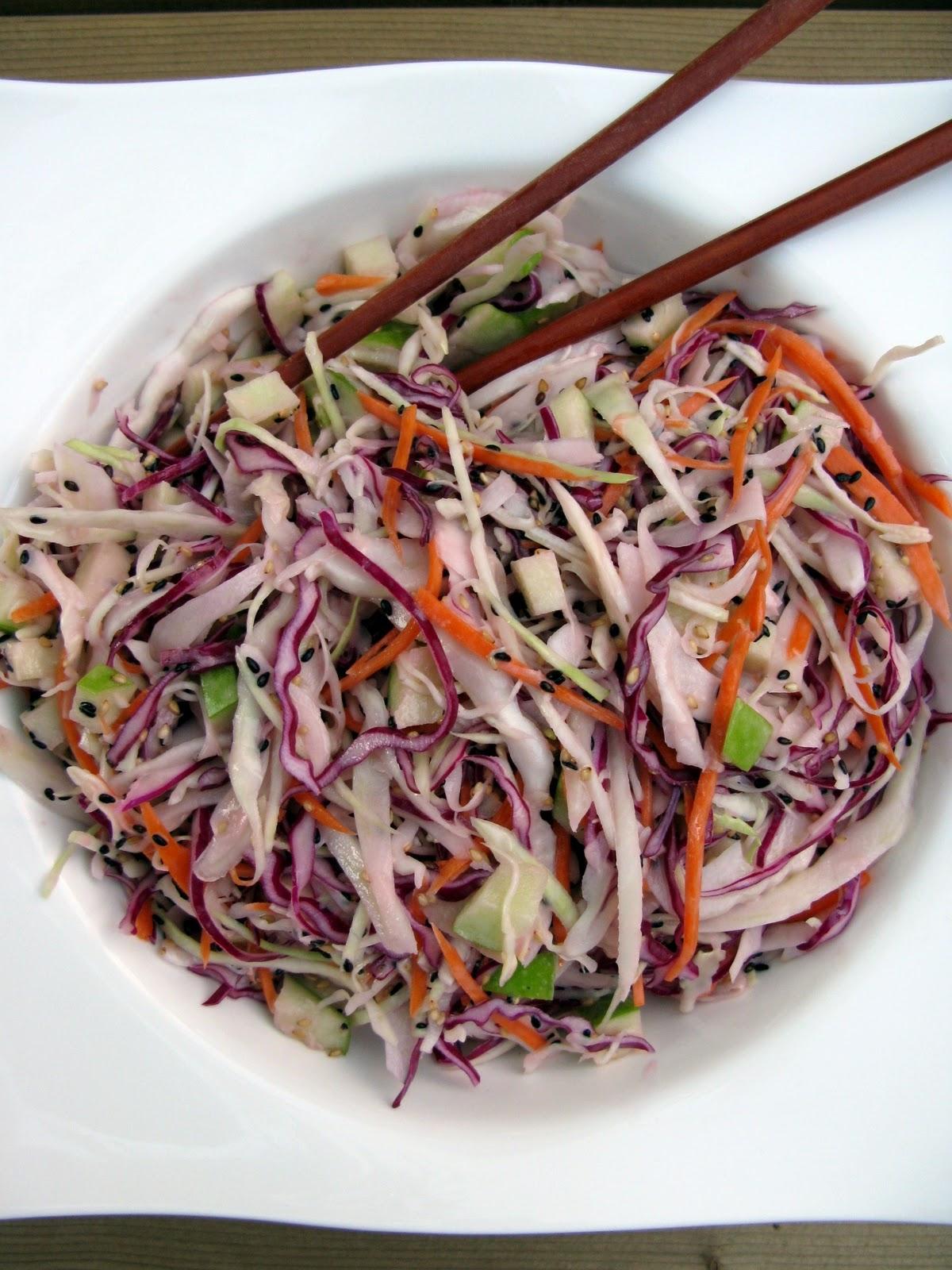 Au gr du march salade de choux l 39 asiatique for Apprendre la cuisine asiatique