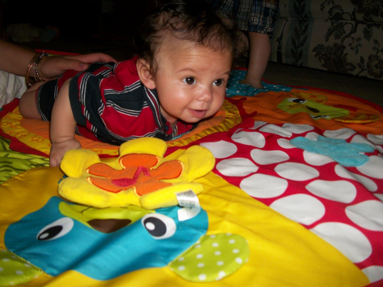 infantino jumbo patchwork play mat eBay