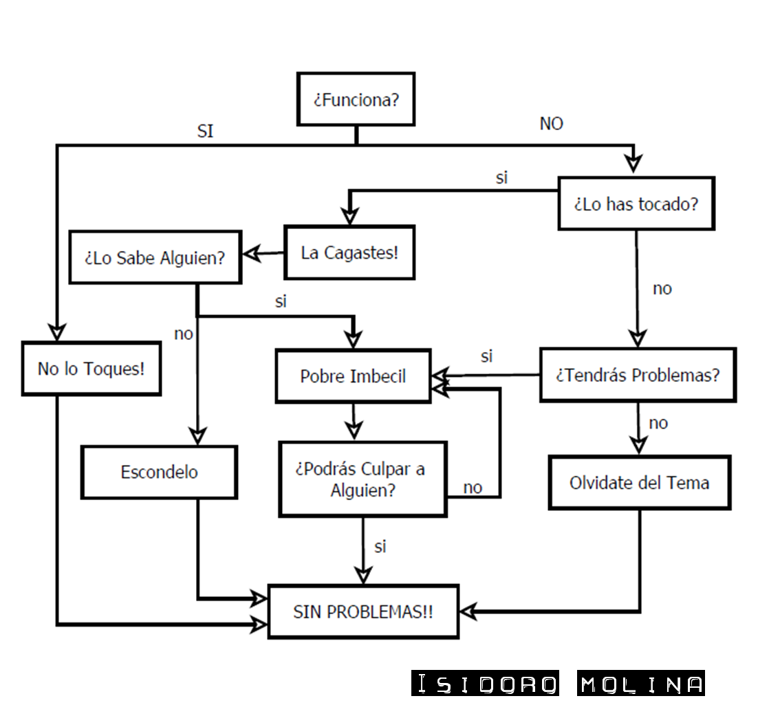 isidoro molina diagrama de flujo