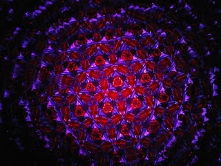 The Way of the Moth: Kaleidoscope on Outdoor Christmas Lights in ...