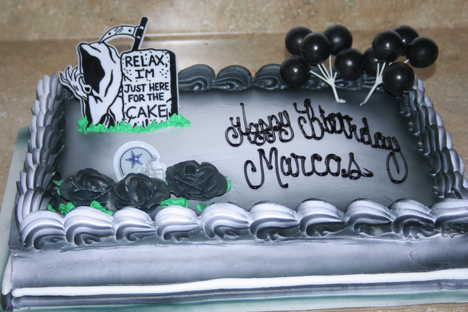 Hectors Custom Cakes Over The Hill Cake