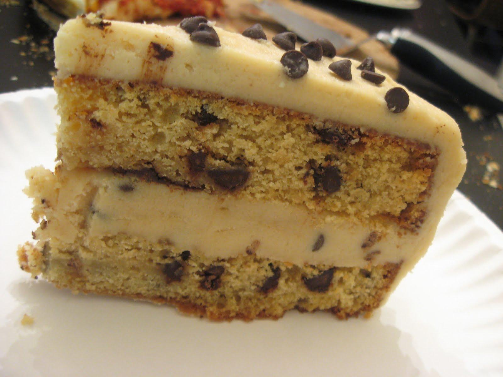 cookie dough cake recipe