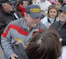 Marta Candia relata la agresión cometida por Faidutti