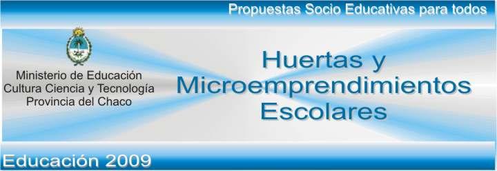 Huertas y Microemprendimientos