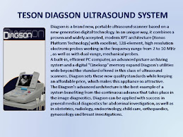 TESON DIAGSON ULTRASOUND SYSTEM