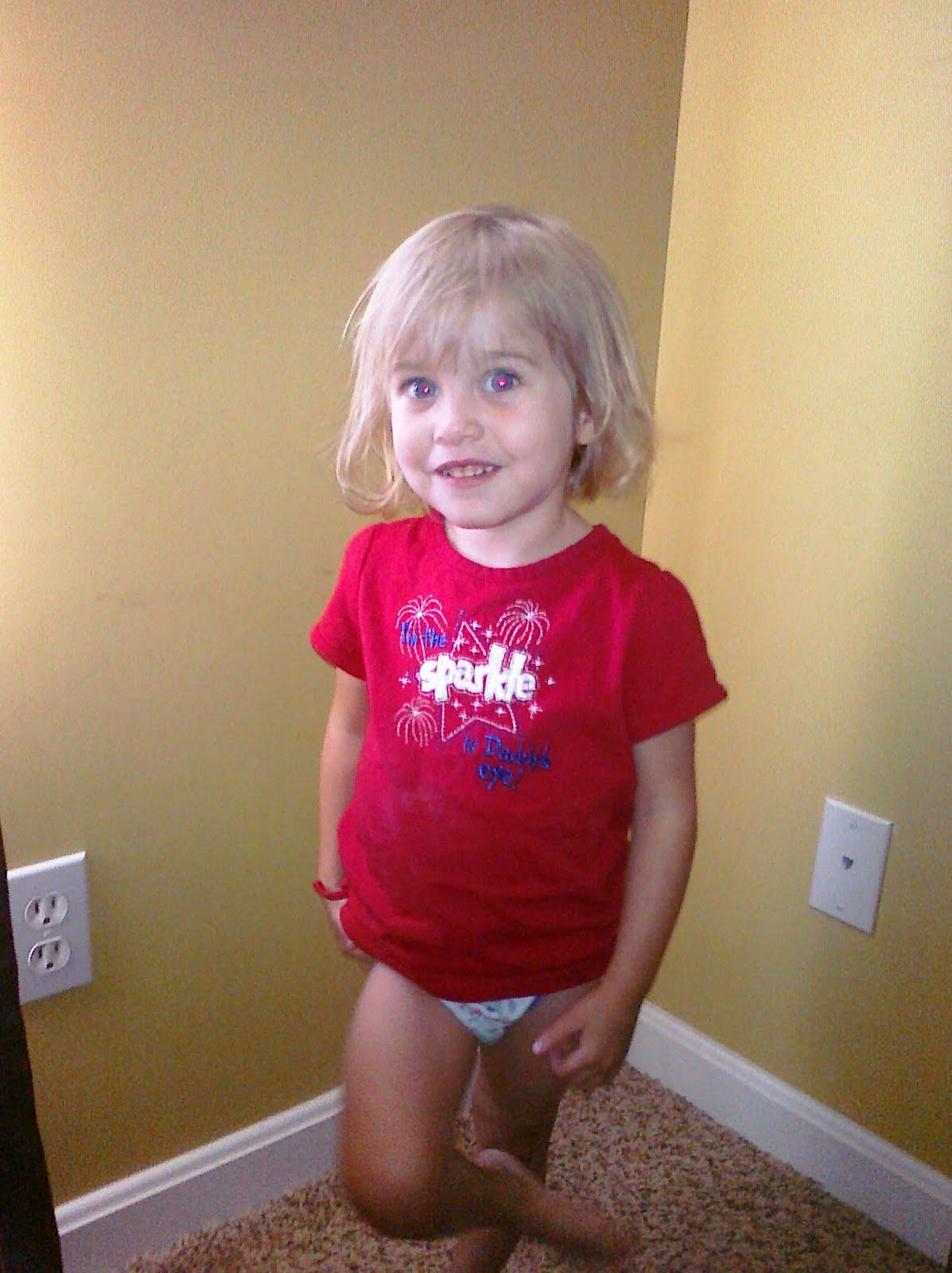 toddler girl pee