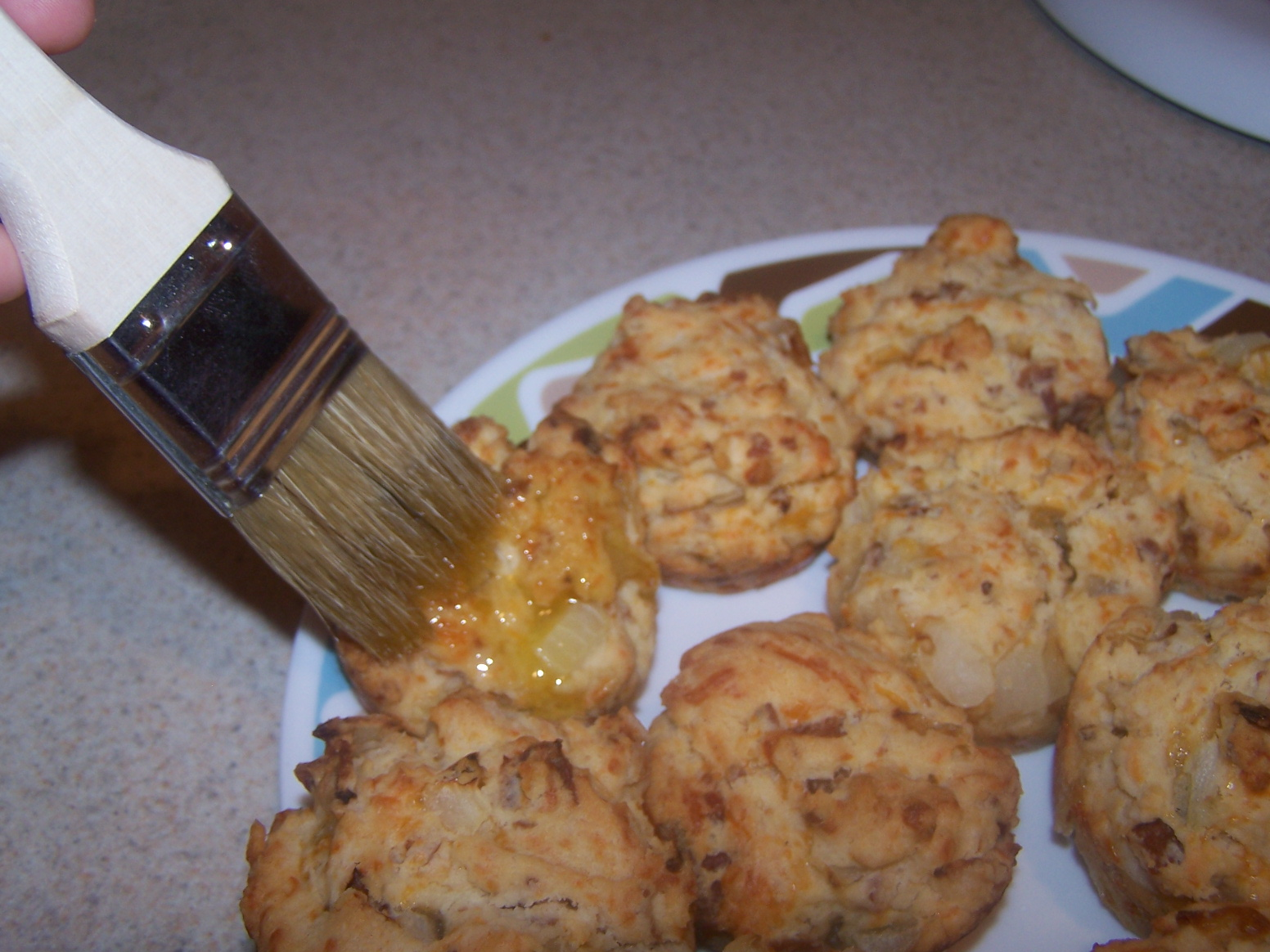The Best is Yet to Come: Bacon Onion Cheddar Biscuits