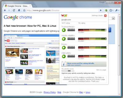 5 Chrome Extensions for more Safe and Secure Browsing 5 Chrome Extensions for more Safe and Secure Browsing wot google chrome extensions