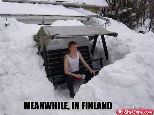 funny girl meanwhile in finland