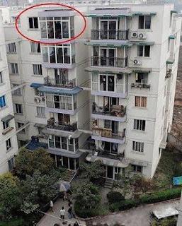 salto mortal desde el 7mo piso