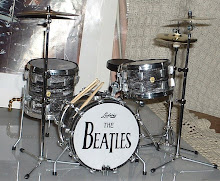 Drumset Ringo Starr played when he was with the Beatles