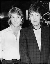 Andy Gibb and Paul McCartney