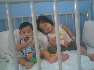 aisya n ammar kena masuk wad (16-18/7/2010)..