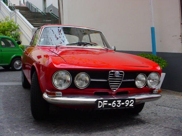 """Squadra Alfa Romeo Madeira representada no """"III Clássicos do Sol """" na Ponta do Sol -  Ago 2008"""