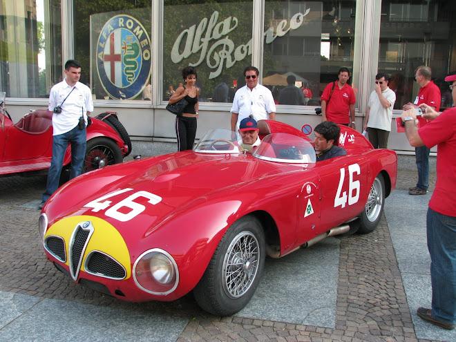 "Alfa Romeo 6C 3000 CM Ex- Fangio do "" Museo Storico Alfa Romeo """