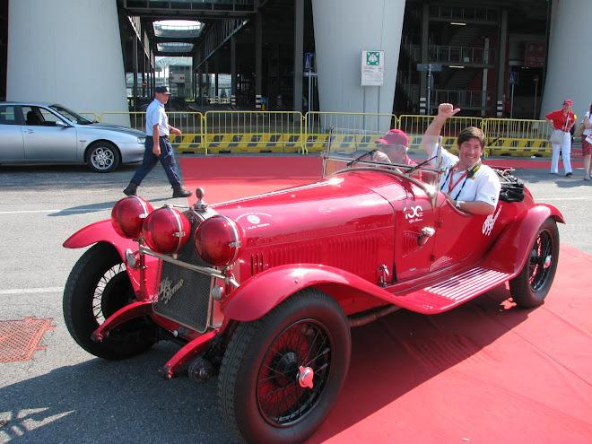 "Alfa Romeo 1750 GS Zagato - Marco Pestana e Guido Girotti do Museu Alfa Romeo - "" Fiera Milano Rho"""