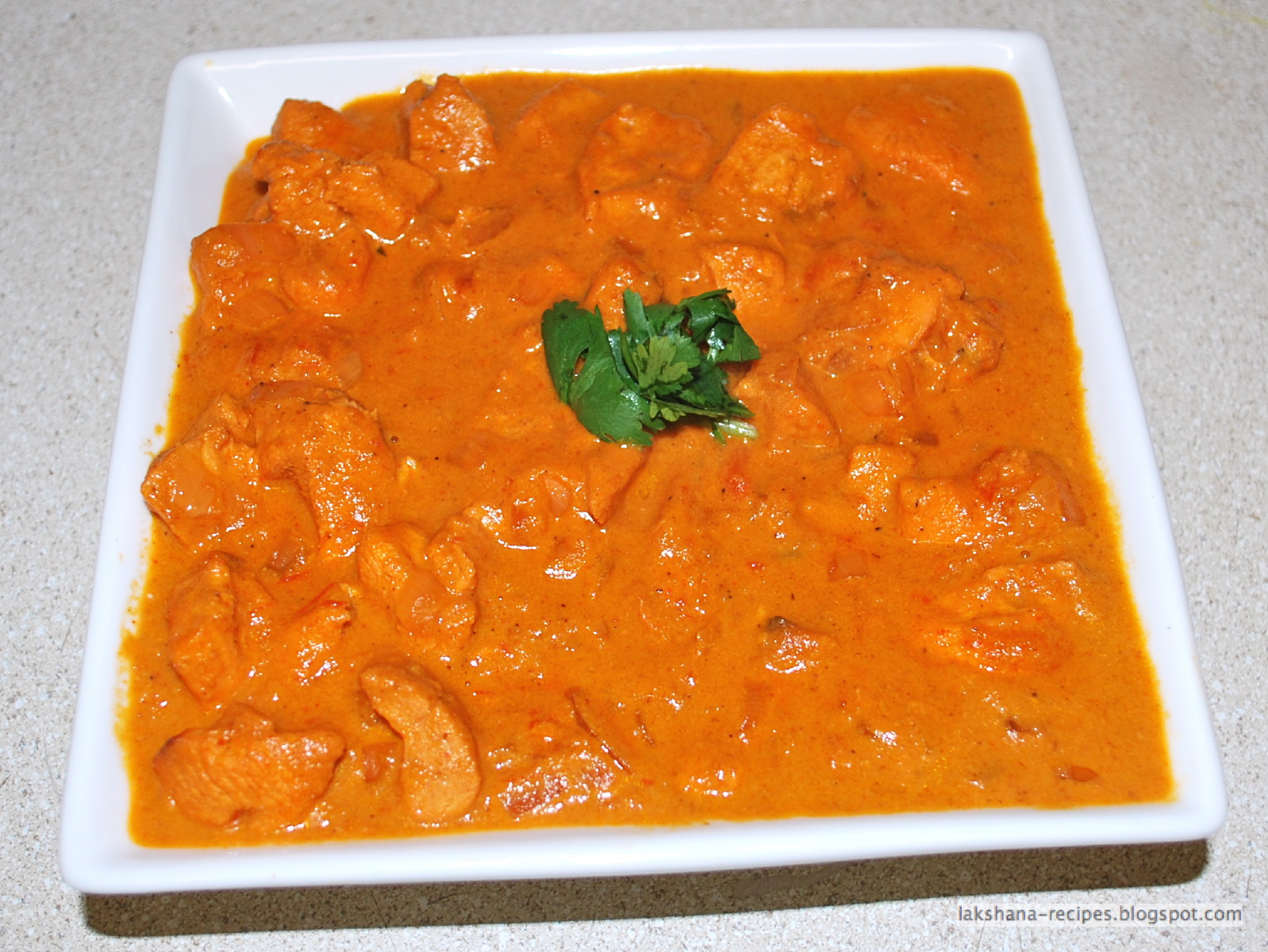 lakshana-recipes: Chicken Tikka Masala