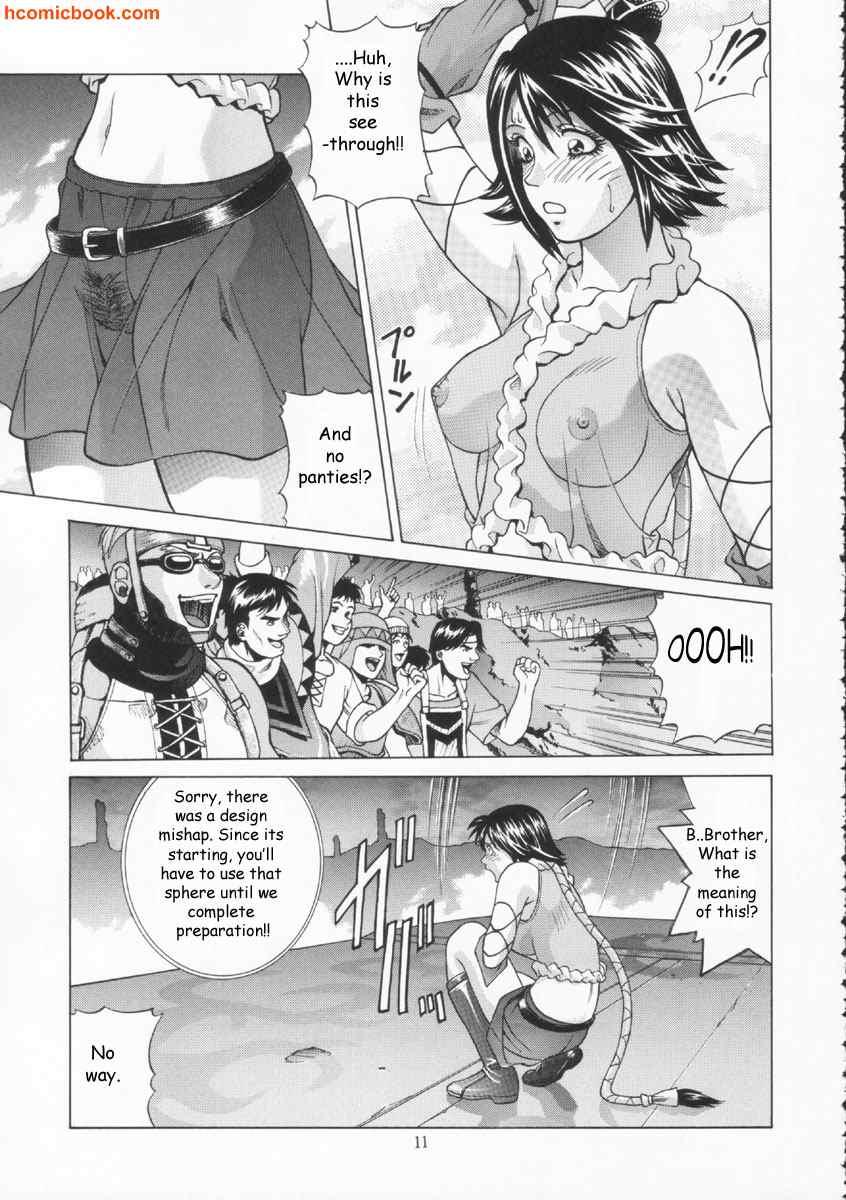 yuna comic hentai