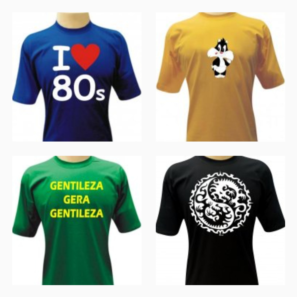 Nova Parceria e Sorteio - Camisetas da Hora