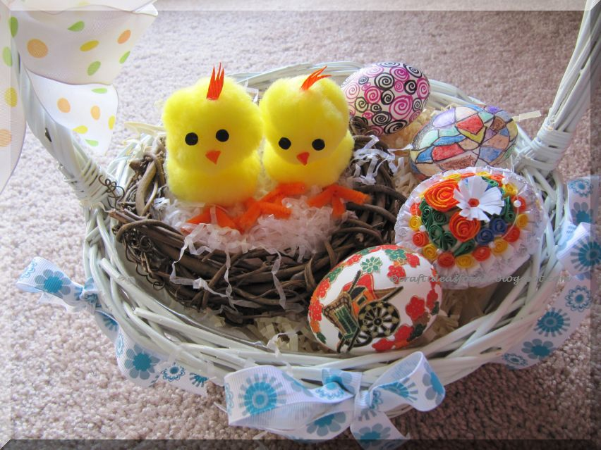 Craft Ideas For All Easter Basket