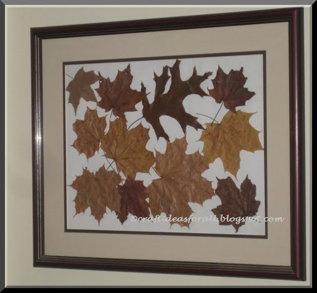 Falling Leaves Wall Decor : Craft ideas for all fall leaves wall art