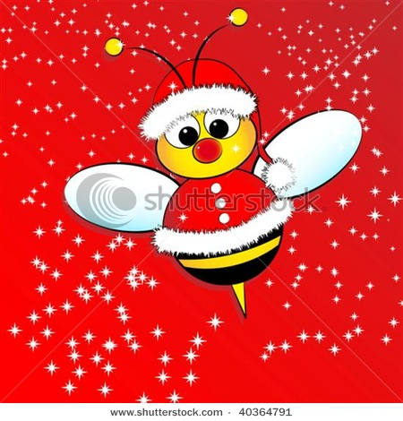 HONEY BEES: AN ADVENTURE: Merry Christmas!