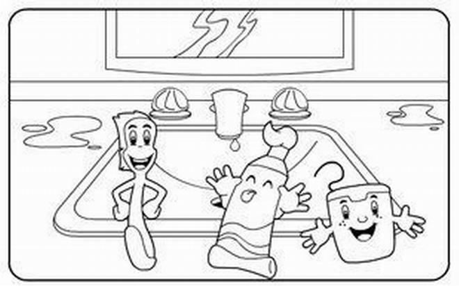 Dibujos de utiles de aseo personal - Imagui