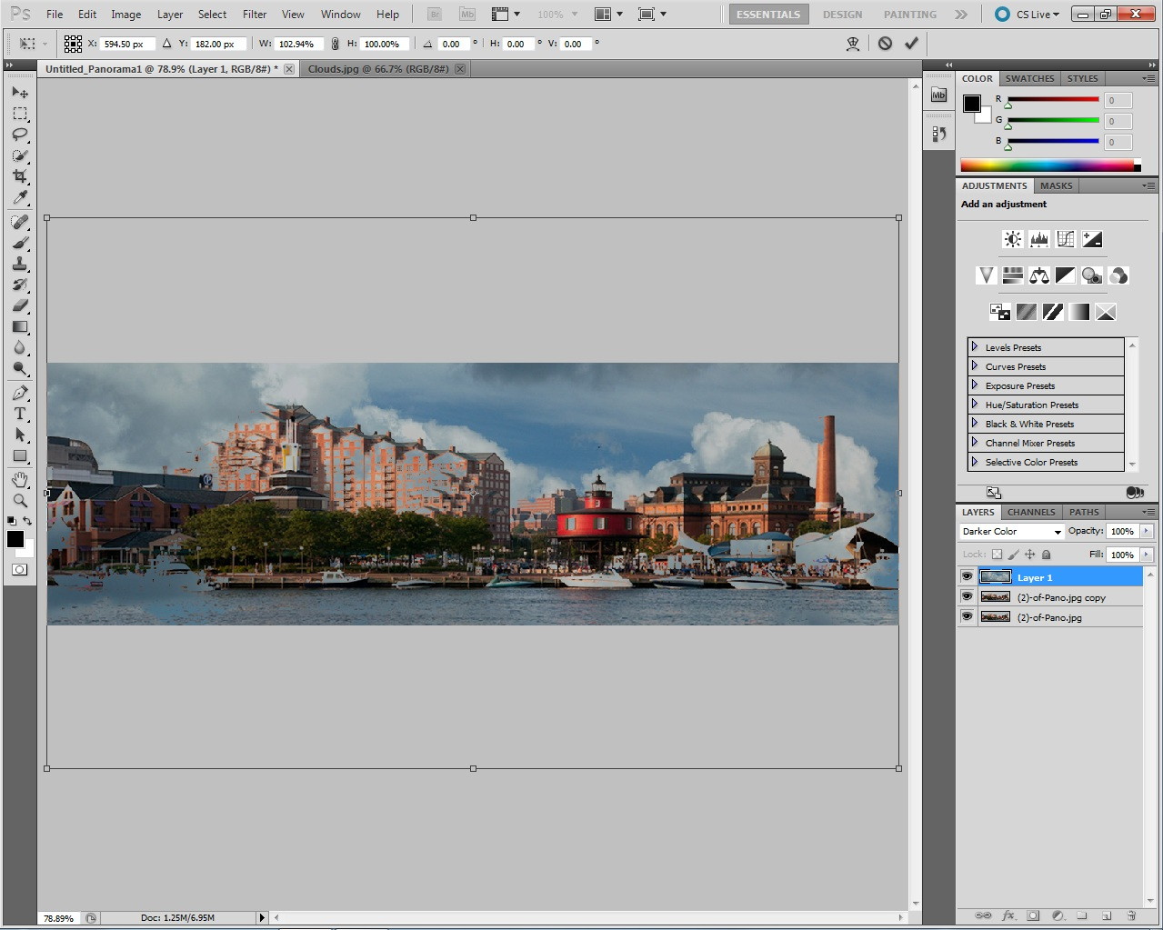 how to add crop marks in photoshop