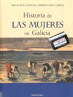 Cuberta do libro Historia de las mujeres en Galicia