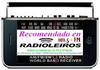 Logo de Recomendacións en Radioleiros