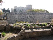 The castle of The Knights of St. John