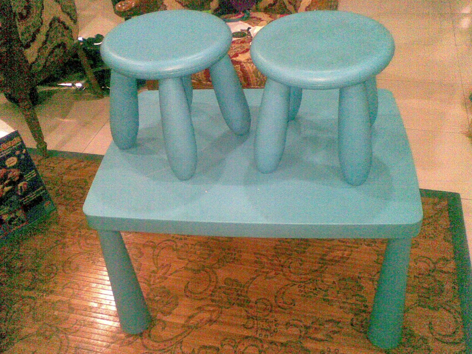 mybundletoys ikea mammut blue table set. Black Bedroom Furniture Sets. Home Design Ideas