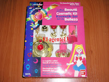 SAILOR MOON SET DE BELLEZA , BANDAI.