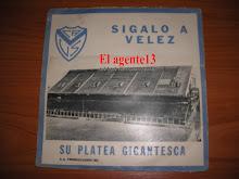 DISCO C.A. VELEZ SARSFIELD 1968.