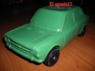 FIAT 128 DE PLASTICO INFLADO.